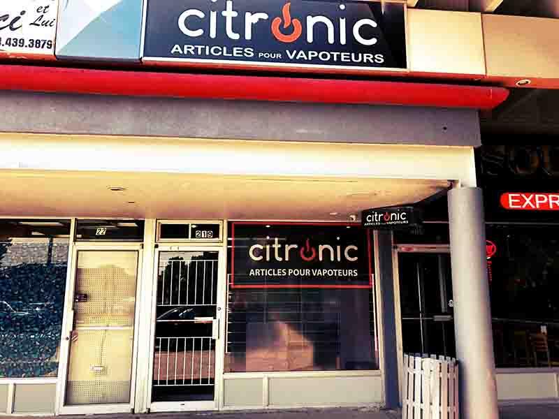 Citronic cote vertu Vape Shop montreal vape pen stlth juul hookah shisha