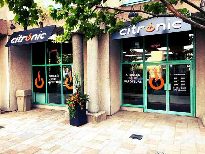 Citronic guy Vape Shop montreal vape pen stlth juul hookah shisha